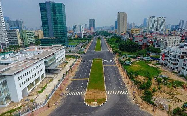 Video: Cận cảnh tuyến đường 8 làn sắp thông xe ở Hà Nội