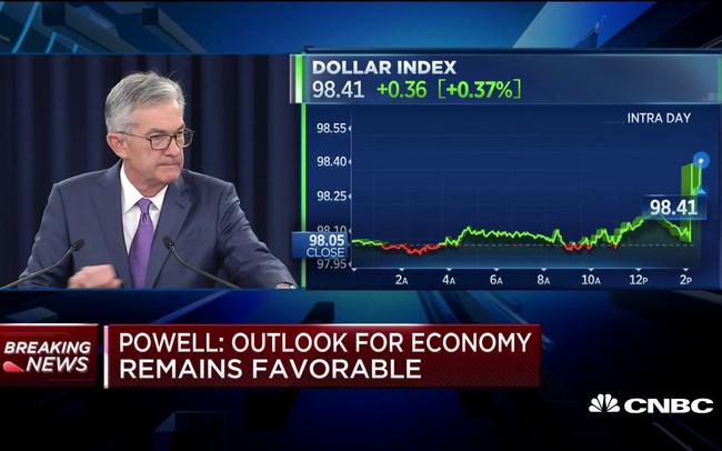 Hai từ của Chủ tịch FED làm rung chuyển thị trường tài chính