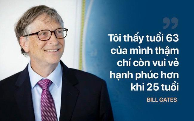 Tỷ phú Bill Gates: Chìa khóa để hạnh phúc, khỏe mạnh là làm 4 việc, không cần đến tiền