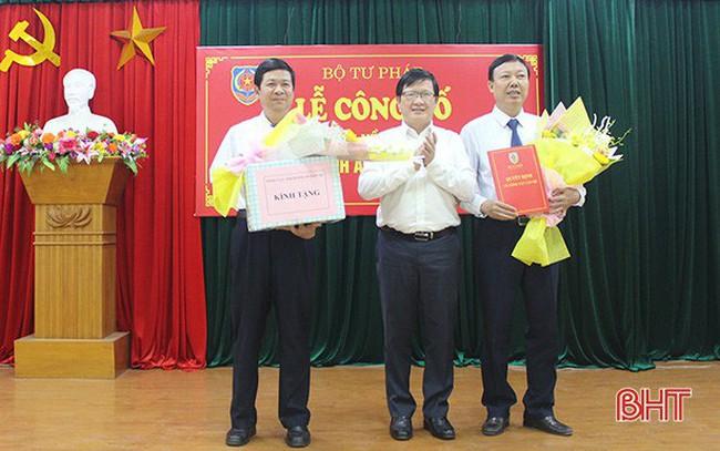 Hà Tĩnh bổ nhiệm nhân sự chủ chốt