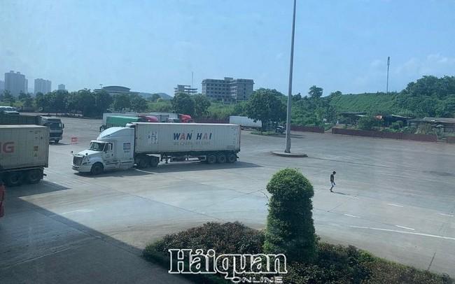 Đã hết ùn ứ các xe thanh long xuất khẩu tại cửa khẩu quốc tế Lào Cai
