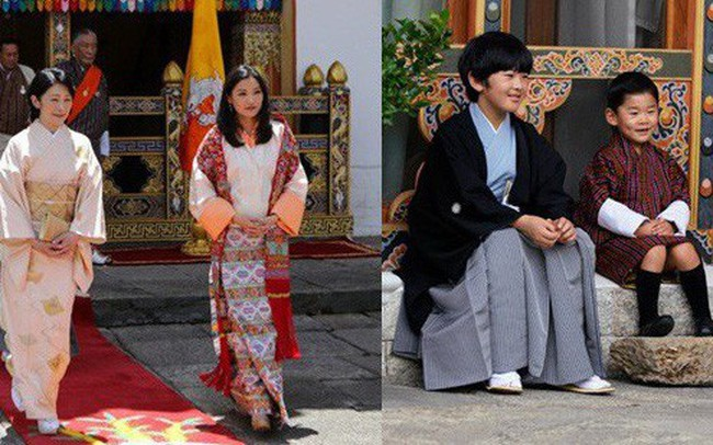 Hoàng hậu Bhutan đọ sắc Thái tử phi Nhật Bản nhưng 2 Hoàng tử nhỏ mới là tâm điểm chú ý, khiến người dùng mạng rần rần