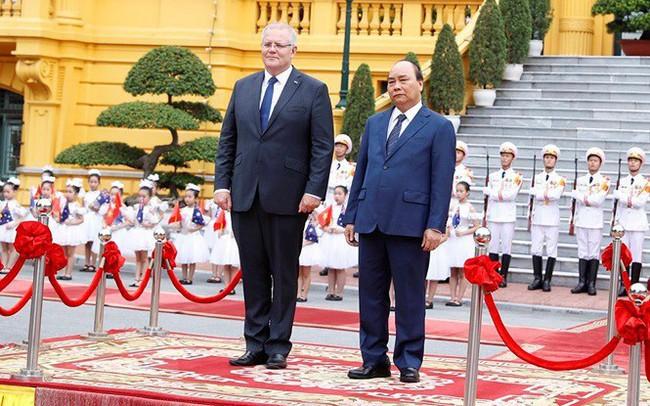 Thủ tướng đón, hội đàm với Thủ tướng Australia Scott Morrison