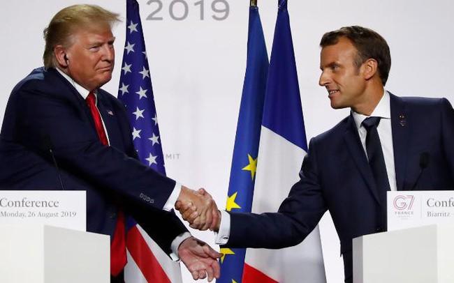 Không phải ông Trump, Tổng thống Pháp Macron mới là người khiến G7 rung chuyển