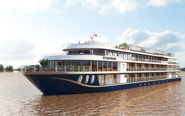 Du thuyền 4 sao có 35 cabin sang trọng sắp hạ thủy vào cuối tháng 8 tại Cần Thơ