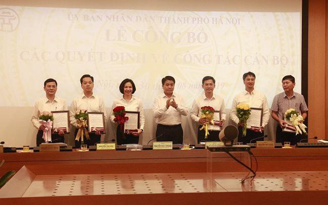 Hà Nội điều động, bổ nhiệm Giám đốc và Phó Giám đốc Sở