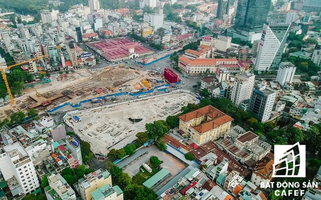 Khởi động đầu tư xây dựng dự án Trung tâm thương mại ngầm Bến Thành