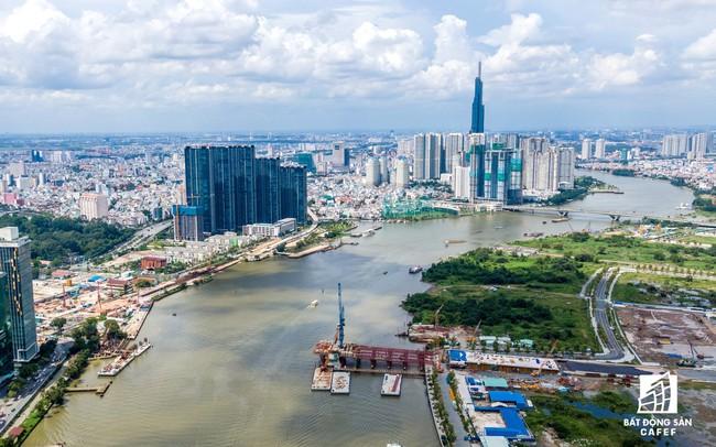 Cầu đi bộ qua sông Sài Gòn sẽ có băng chuyền, thang máy  Cầu đi bộ qua sông Sài Gòn sẽ có băng chuyền, thang máy hinh 61 15682154846921911682482 crop 15694955992951483927154