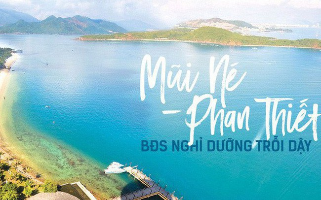Sóng đầu tư bất động sản nghỉ dưỡng đổ về dải đất ven biển Phan Thiết – Mũi Né