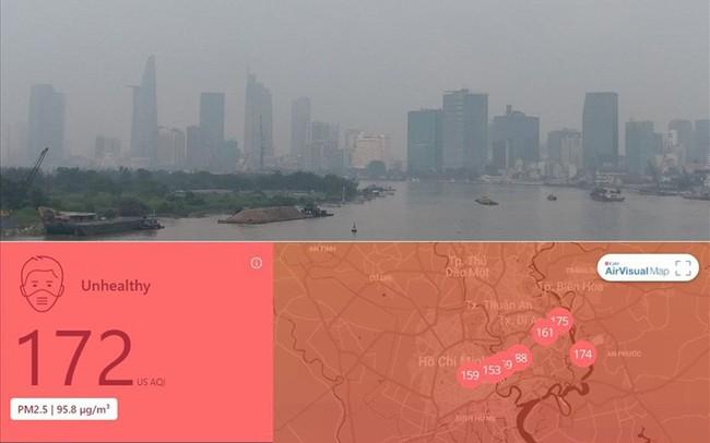 """Lại """"báo động đỏ"""", bầu trời Sài Gòn mù mịt ô nhiễm nặng  Lại """"báo động đỏ"""", bầu trời Sài Gòn mù mịt ô nhiễm nặng suong mu quang hoa 15694708555161636537151 crop 15694708642021015188430"""