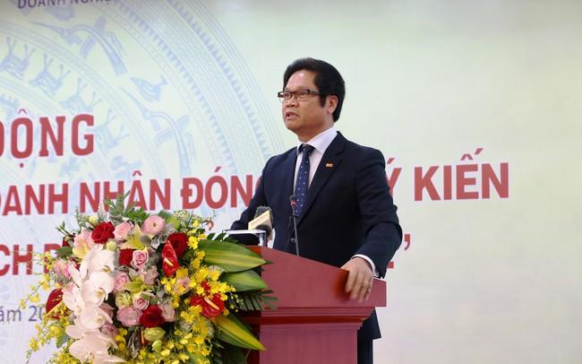 Ông Vũ Tiến Lộc: Lần đầu tiên Đảng, Nhà nước tổ chức cuộc vận động quy mô lớn để lắng nghe ý kiến cộng đồng doanh nghiệp