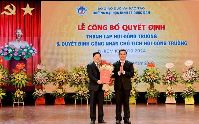 GS.TS. Trần Thọ Đạt làm Chủ tịch Hội đồng trường ĐH Kinh tế Quốc dân