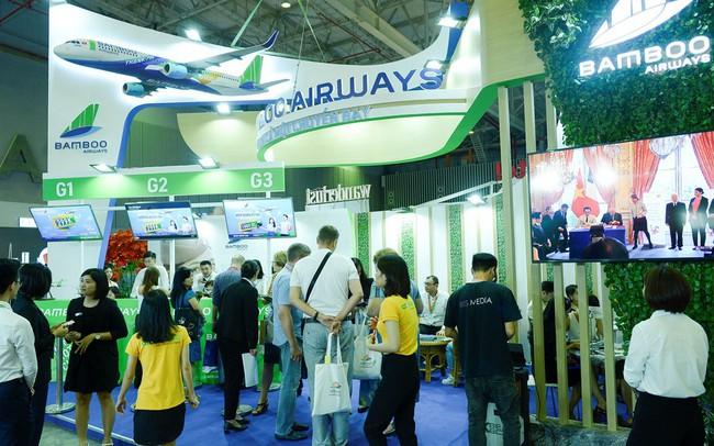 Bamboo Airways dự kiến bán được hơn 10.000 vé máy bay và combo du lịch dịp Hội chợ Du lịch quốc tế