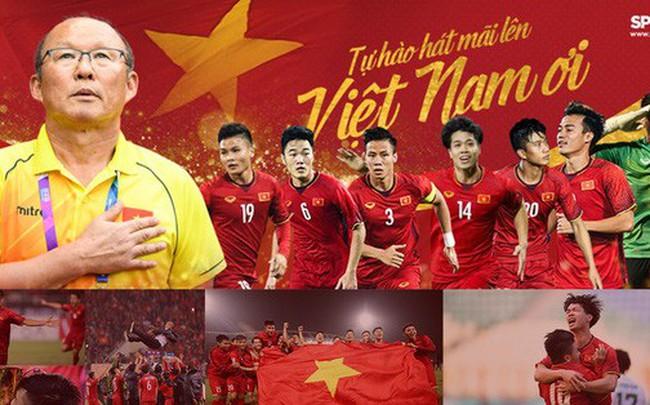 Hành trình kỳ diệu của bóng đá Việt Nam trong năm 2018 qua ảnh