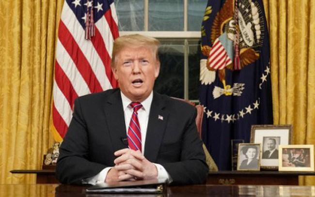 """Quyết xây tường với Mexico, Tổng thống Mỹ tiếp tục """"cuộc đấu"""" với Quốc hội"""