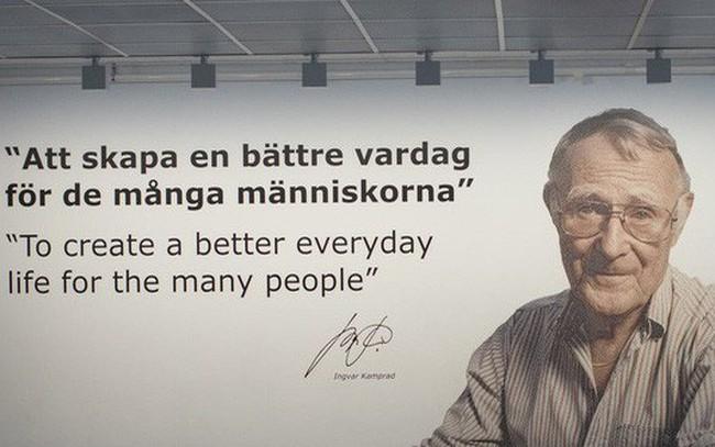 Triết lý kinh doanh năm 17 tuổi giúp ông chủ IKEA lôi kéo được hàng triệu người đến mua hàng mỗi năm