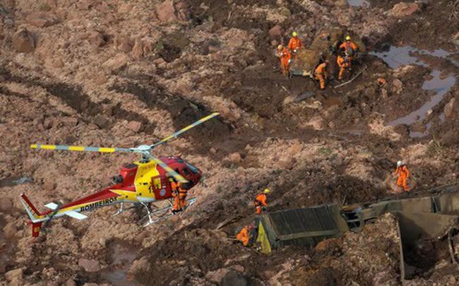 Brazil: Vỡ đập chất thải, hơn 200 người mất tích trong bùn lầy