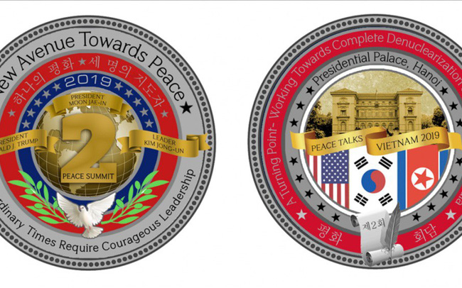 Hình ảnh Việt Nam được lên đồng xu đặc biệt của Nhà Trắng