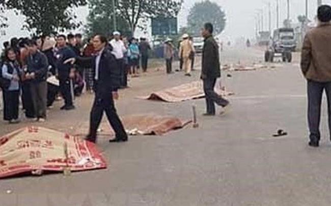 Xe khách đâm đoàn đưa tang làm 7 người chết chạy với tốc độ 78km/giờ