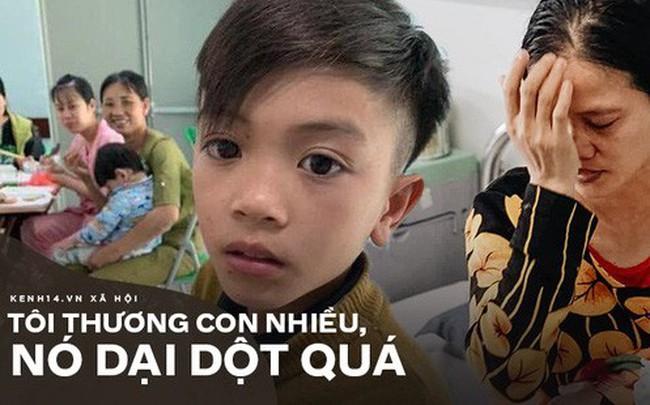 """Mẹ bật khóc vì con trai 13 tuổi đạp xe không phanh vượt 100km từ Sơn La tới Hà Nội thăm em bị ốm: """"May mắn là con không sao..."""""""