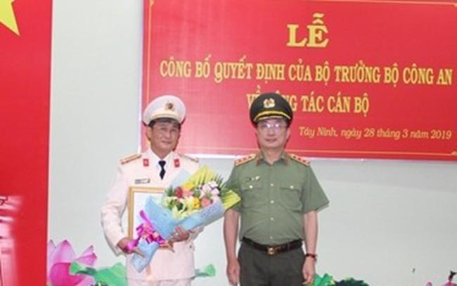 Bổ nhiệm Giám đốc Công an tỉnh Tây Ninh