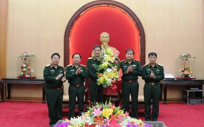 Phó Tư lệnh kiêm Tham mưu trưởng Quân khu 2 được thăng quân hàm cấp tướng
