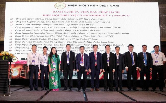 Hiệp hội Thép Việt Nam có Chủ tịch mới