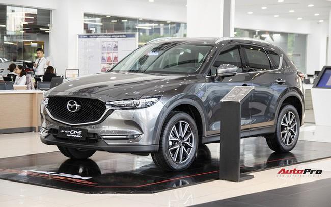 Mazda CX-5 tiếp tục giảm giá sốc tại đại lý trong tháng 5, khởi điểm từ khoảng 830 triệu đồng