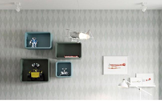 Căn hộ có 3 phòng ngủ rộng rãi nhờ cách sắp xếp nội thất