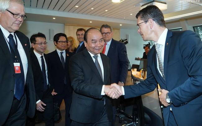 """Thủ tướng mong muốn kết hợp """"Made by Na Uy"""" và """"Made in Việt Nam"""""""