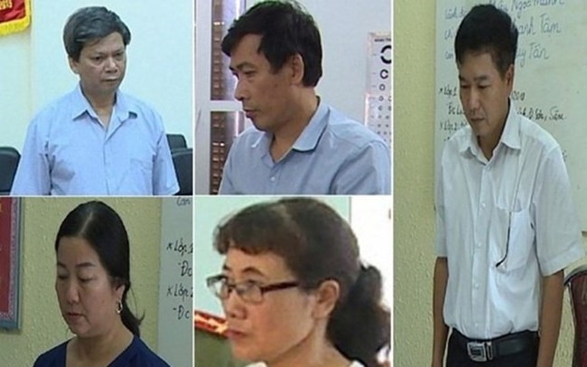 8 cán bộ ở Sơn La bị khai trừ Đảng vì tổ chức nâng điểm thi