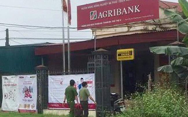 Phòng giao dịch Agribank bị cướp có dao, súng ở Phú Thọ hiện ra sao?