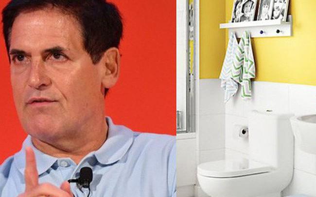 """""""Cá mập"""" tỷ phú Mark Cuban giấu một quyển sách trong nhà vệ sinh để thỉnh thoảng nghiền ngẫm, nhờ đó ông trở thành một nhà đầu tư lợi hại!"""