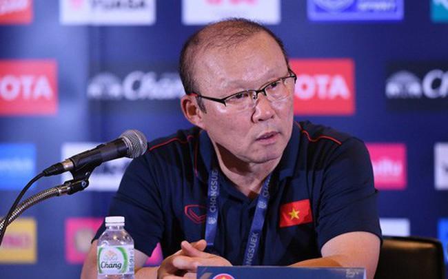 """HLV Park Hang-seo: """"Nhiều tuyển thủ Việt Nam chấn thương, mệt mỏi sau trận thắng Thái Lan"""""""