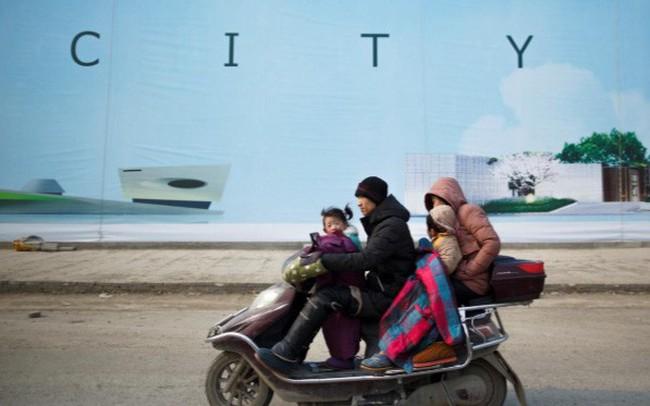 Bong bóng tài sản dần thành hình tại các thành phố ở Trung Quốc