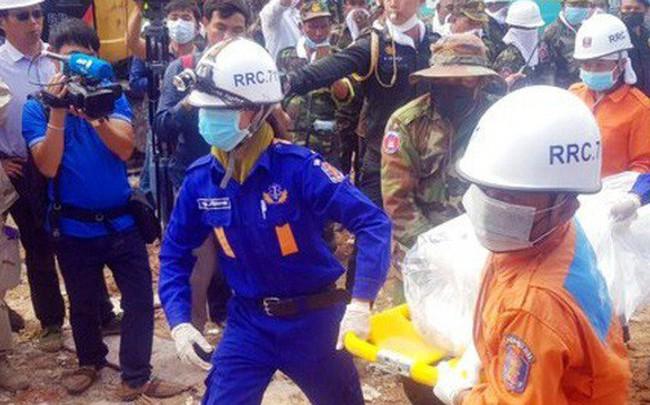 Campuchia buộc tội 4 công dân Trung Quốc vụ sập nhà làm 28 người chết