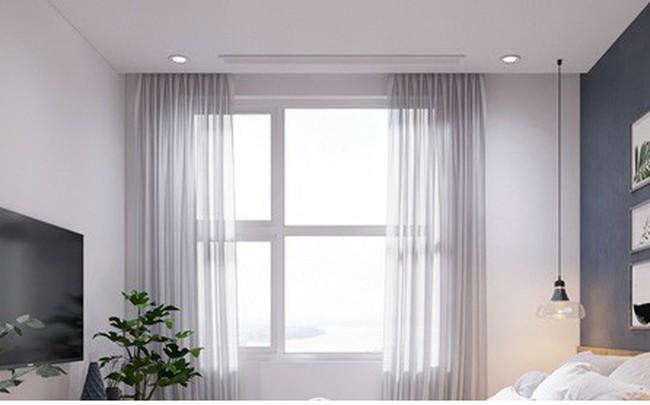 Căn hộ 3 phòng ngủ, sở hữu những mảng xanh tinh tế