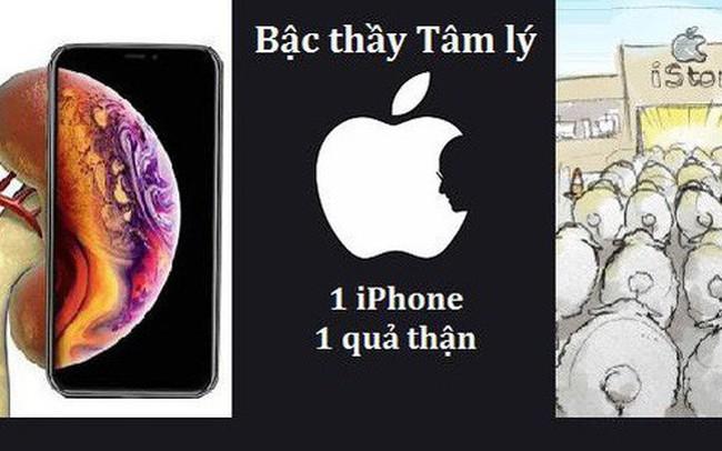 """""""Bậc thầy"""" tâm lý học Apple và những chiếc iPhone khiến người dùng phải… bán thận"""
