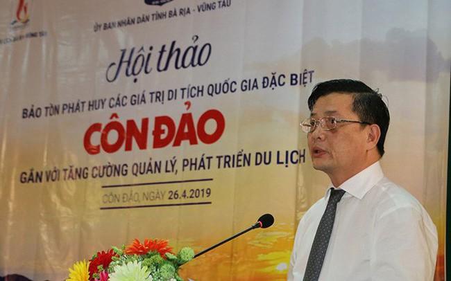 Ông Nguyễn Thành Long giữ quyền Chủ tịch Bà Rịa-Vũng Tàu