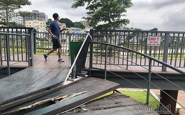 Công viên hiện đại ở Quảng Ninh, cầu đi bộ thành nơi 'ươm' nấm