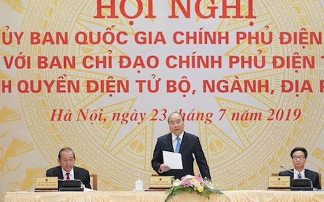 Thủ tướng: Quyết làm cho được Chính phủ điện tử