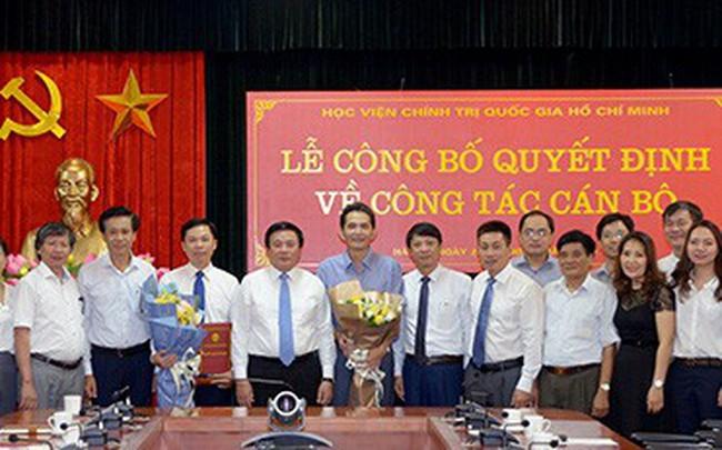Học viện Chính trị Quốc gia HCM bổ nhiệm nhiều lãnh đạo