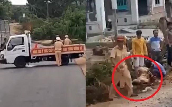Bị truy đuổi, tài xế liều mạng tông thẳng vào xe CSGT chặn đường ở Gia Lai: Tạm giữ 3 nghi can