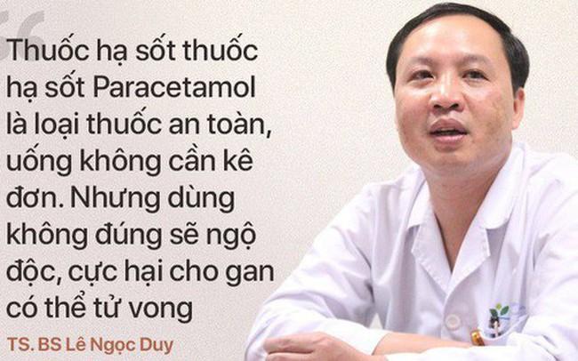 TS.BS BV Nhi TƯ: Để không bị hỏng gan, suy đa tạng do thuốc hạ sốt, cần phải biết điều sau