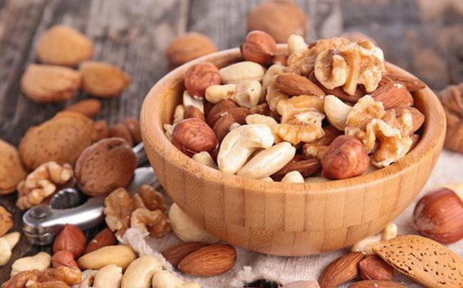 Các loại hạt làm giảm 17% nguy cơ tử vong vì bệnh tim mạch và đột quỵ