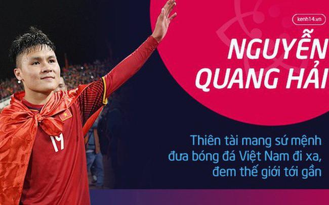 Nguyễn Quang Hải: Thiên tài mang sứ mệnh đưa bóng đá Việt Nam đi xa, đem thế giới tới gần
