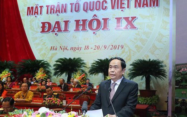 Ông Trần Thanh Mẫn tái đắc cử Chủ tịch Ủy ban Trung ương MTTQ Việt Nam