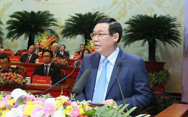 Phó Thủ tướng Vương Đình Huệ nói về việc đánh giá lại GDP