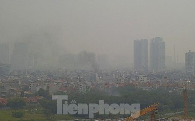 Sau một ngày trong lành, Hà Nội lại ô nhiễm nghiêm trọng sáng nay