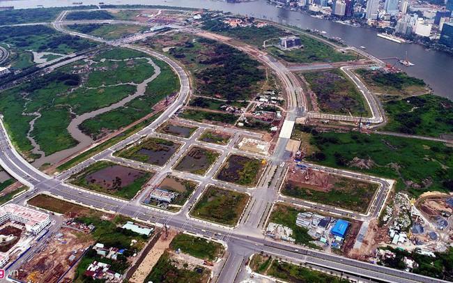 Thu hồi 1.800 tỷ đồng từ 4 tuyến đường trong Khu Đô thị mới Thủ Thiêm